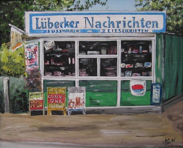 Kiosk an der Eiche