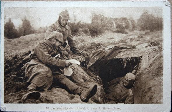 1. Weltkrieg, Feldpostkarte, Am liebsten nach Hause