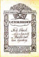 Lehrbrief 1912
