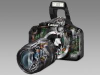 Digitalkamera Schnittbild