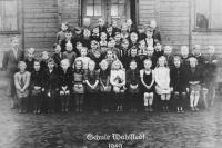 Schule in Baracken