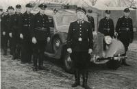 Feuerwehr Löchfahrzeug 1957
