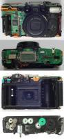 Kamera, Innenteil von verschiedenen Seiten
